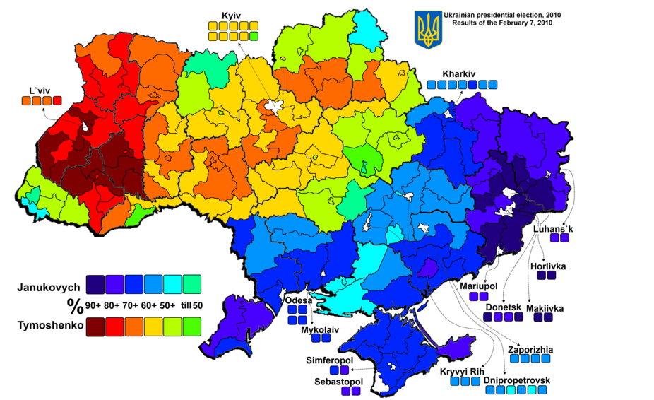 Historical Maps of Ukraine